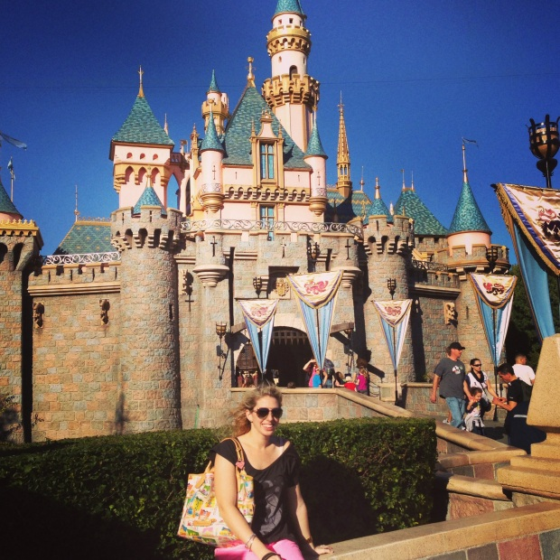 The tiny but classically beautiful Sleeping Beauty Castle