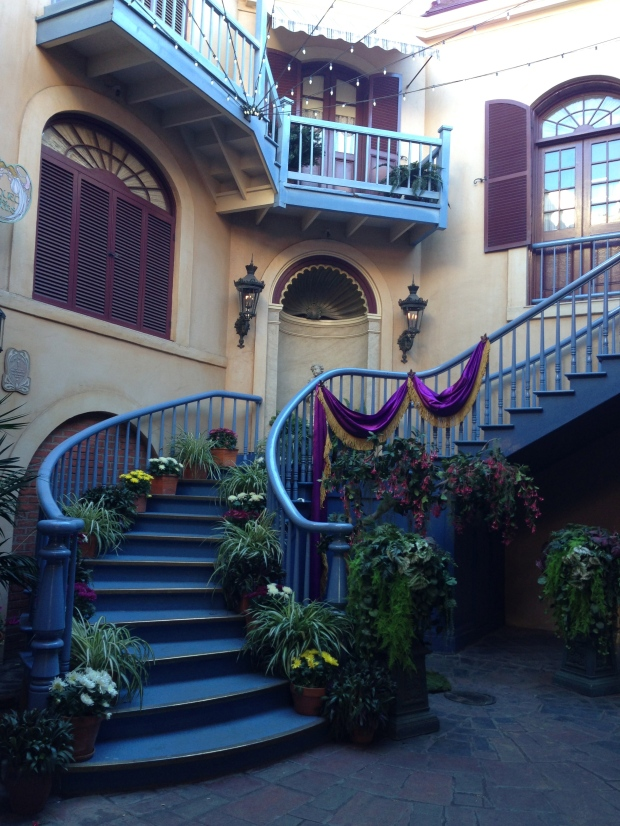 My favorite Disneyland spot - in the recesses of New Orleans Square