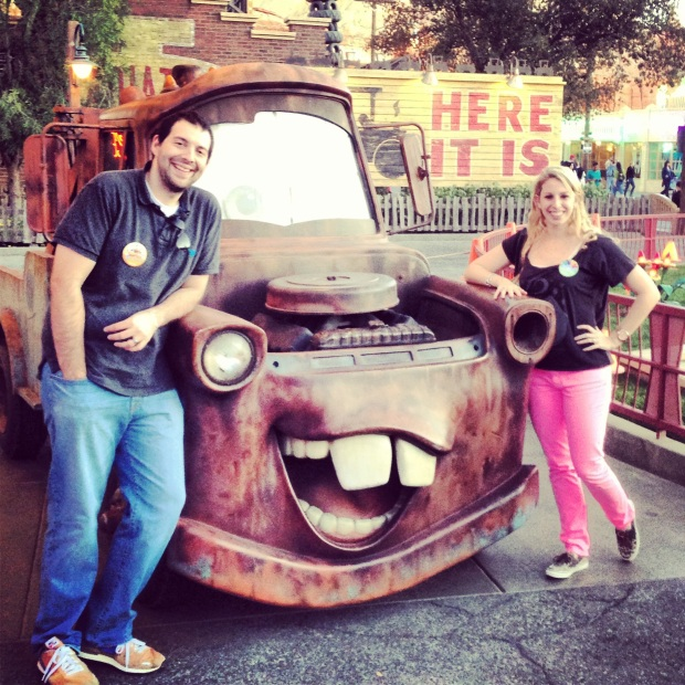 Chilling with Mater!