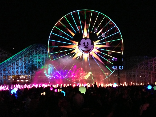World of Color was so beautiful - it brought me to tears!