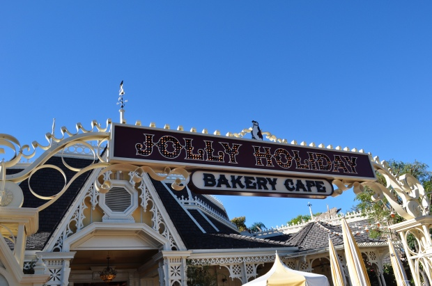 Jolly Holiday was my favorite - nothing like breakfast with a castle view