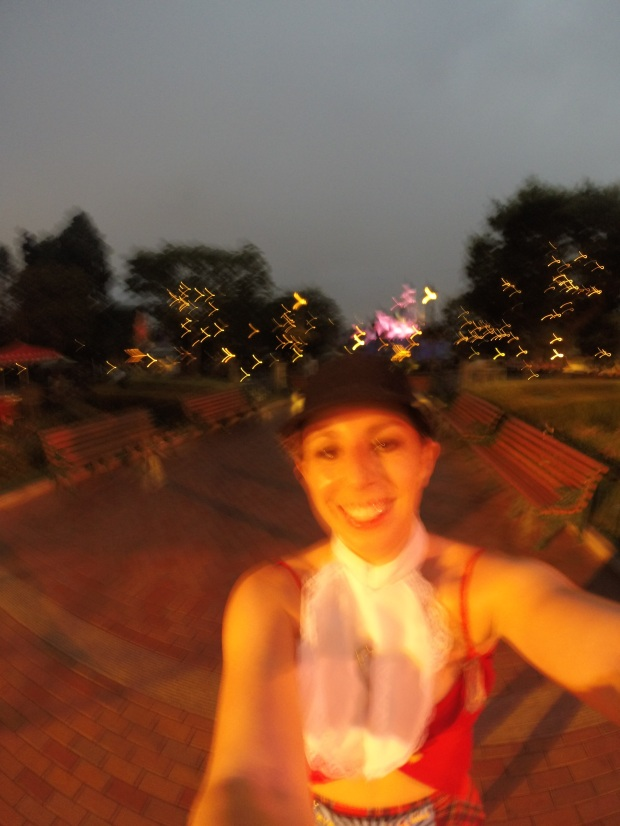I think this was the best one in the bunch.  Hi, tiny blurry castle!