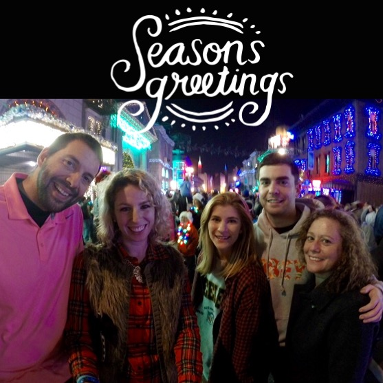 Season's Greetings from Hollywood Studios at the Osborne Family Spectacle of Dancing Lights!